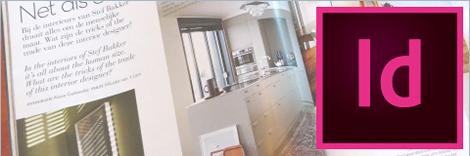 InDesignによる組板のイメージ